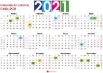 Calendario Laboral Cadiz 2021