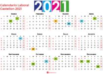 Calendario Laboral Castellon 2021