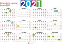 Calendario Laboral Ceuta 2021