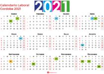 Calendario Laboral Cordoba 2021