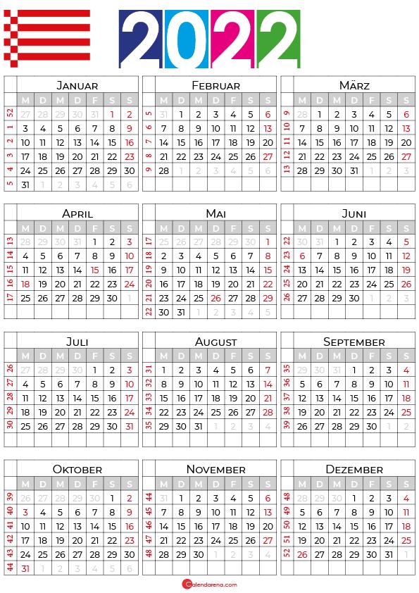 ferien bremen 2022 kalender