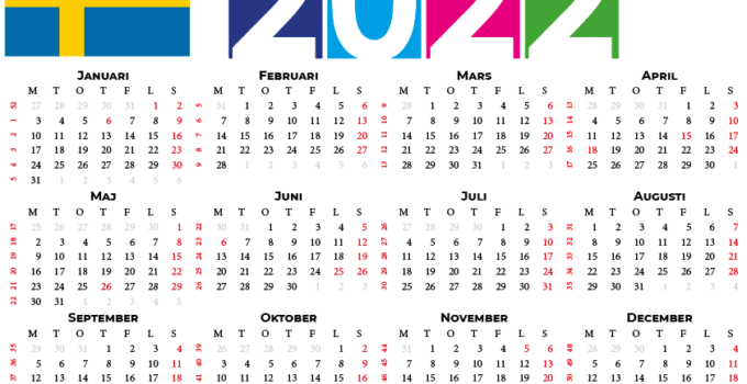 kalender 2022 Sverige