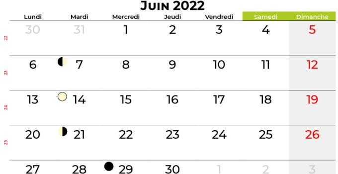 calendrier juin 2022 suisse