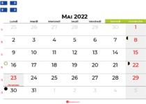 calendrier mai 2022 québec canada