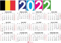kalender 2022 Belgien